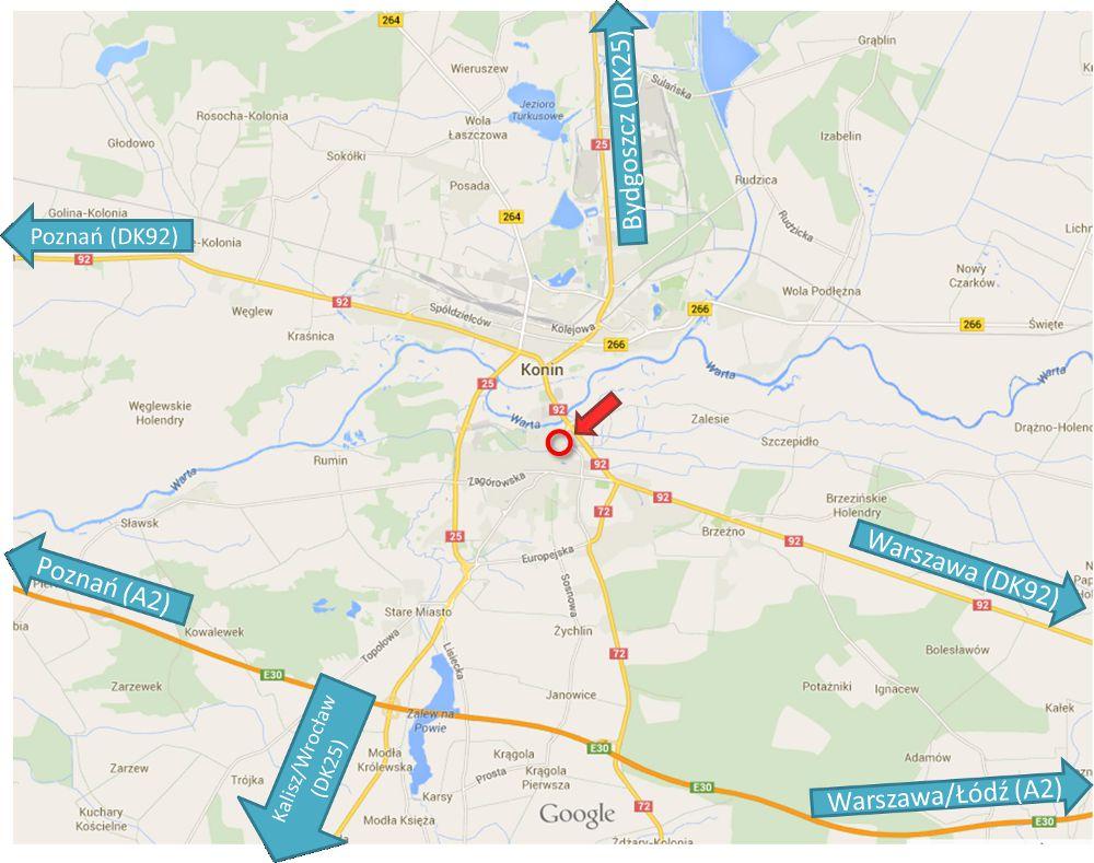mapa_dojazd